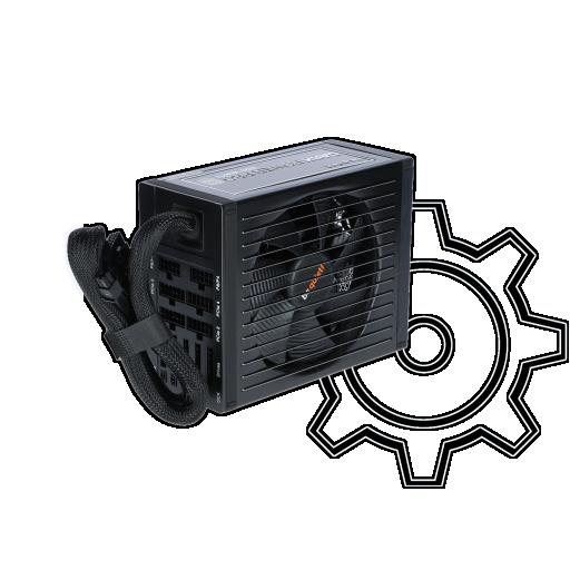 360 - 850 Watt be quiet! Dark Power Pro 11 Modular 80+ Platinum