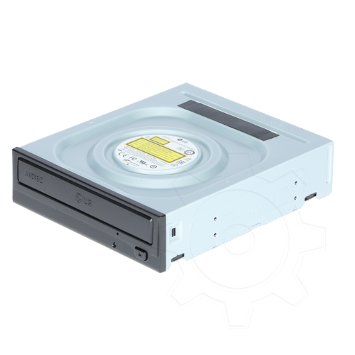 360 - LG Electronics GH24NSD1 DVD-Writer SATA intern schwarz Bulk