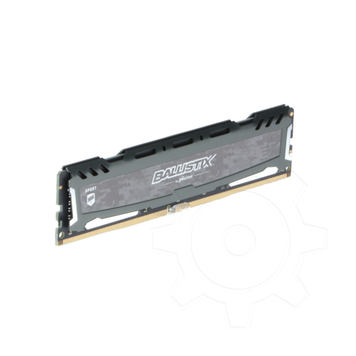 360 - 8GB Crucial Ballistix Sport LT grau DDR4-2400 DIMM CL16 Single
