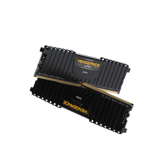 360 - 16GB Corsair Vengeance LPX schwarz DDR4-3000 DIMM CL15 Dual Kit