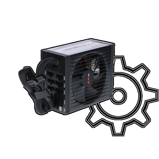 360 - 650 Watt be quiet! Dark Power Pro 11 Modular 80+ Platinum