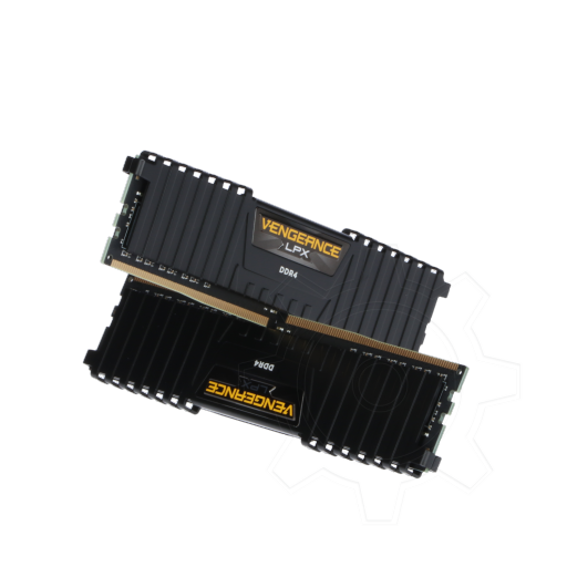 360 - 16GB Corsair Vengeance LPX schwarz DDR4-2400 DIMM CL16 Dual Kit