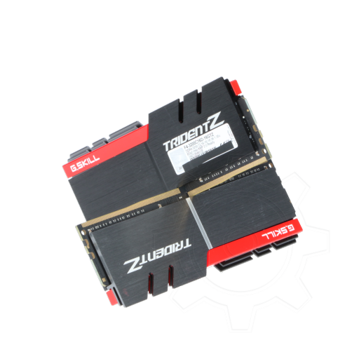 360 - 16GB G.Skill Trident Z silber/rot DDR4-3200 DIMM CL16 Dual Kit