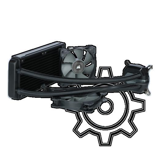 360 - Corsair Hydro Series H100i v2 Komplett-Wasserkühlung