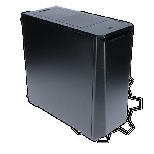 360 - Phanteks Eclipse P400S gedämmt Midi Tower ohne Netzteil schwarz
