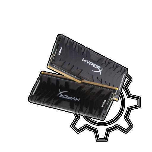 360 - 16GB HyperX Predator DDR4-3200 DIMM CL16 Dual Kit