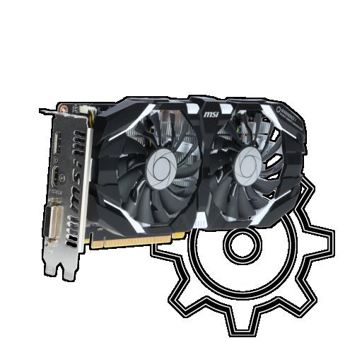 360 - 6GB MSI GeForce GTX 1060 6GT OC Aktiv PCIe 3.0 x16 (Retail)