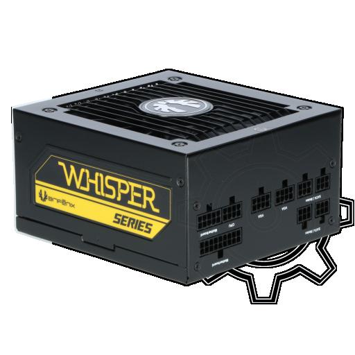360 - 450 Watt BitFenix Whisper M Modular 80+ Gold