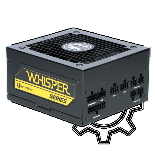 360 - 550 Watt BitFenix Whisper M Modular 80+ Gold