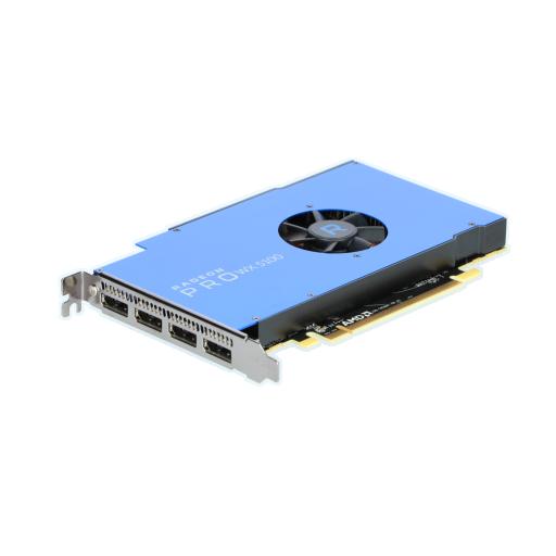 360 - 8GB AMD Radeon Pro WX 5100 Aktiv PCIe 3.0 x16