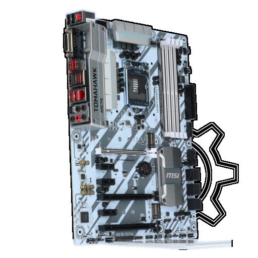 360 - MSI Z270 TOMAHAWK Arctic Intel Z270 So.1151 Dual Channel DDR ATX