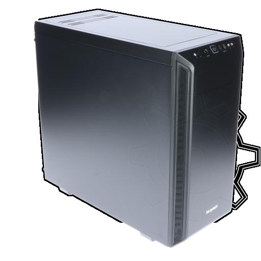 360 - be quiet! Pure Base 600 gedämmt Midi Tower ohne Netzteil schwarz