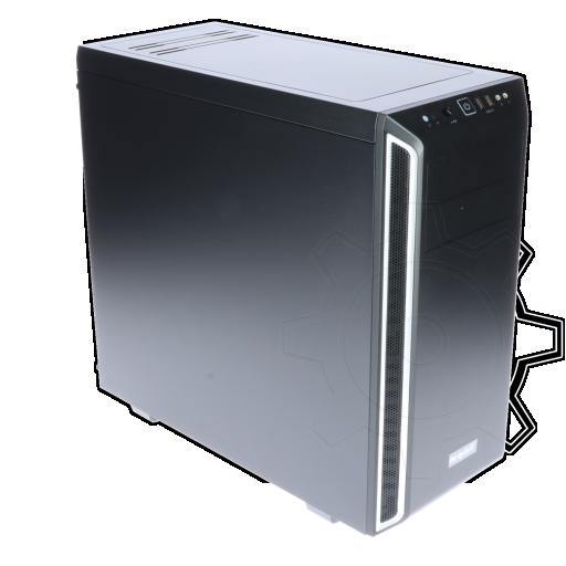 360 - be quiet! Pure Base 600 gedämmt Midi Tower ohne Netzteil silber