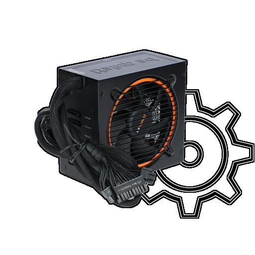 360 - 700 Watt be quiet! Pure Power 10 CM Modular 80+ Silver