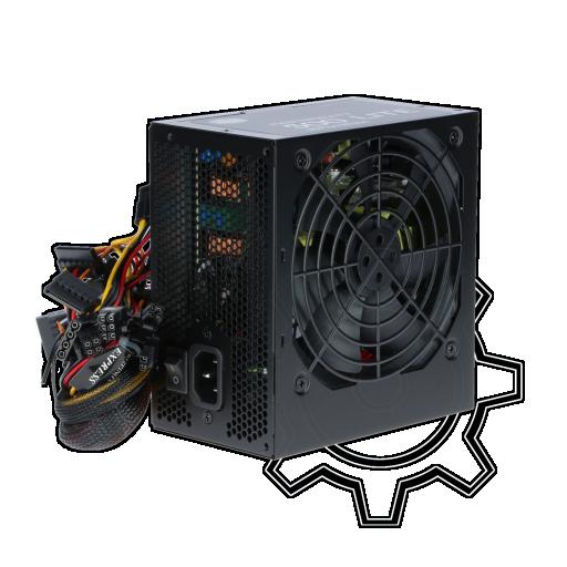 360 - 500 Watt Cooler Master MasterWatt Lite Non-Modular 80+