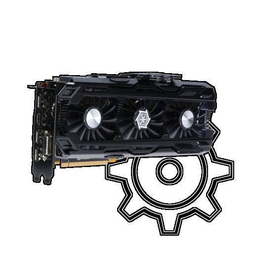 360 - 11GB Inno3D GeForce GTX 1080 Ti iChill X4 Aktiv PCIe 3.0 x16 (Retail)
