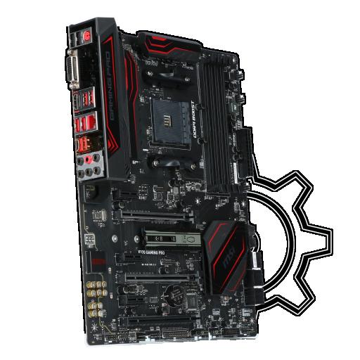 360 - MSI X370 GAMING PRO AMD X370 So.AM4 Dual Channel DDR4 ATX Retail