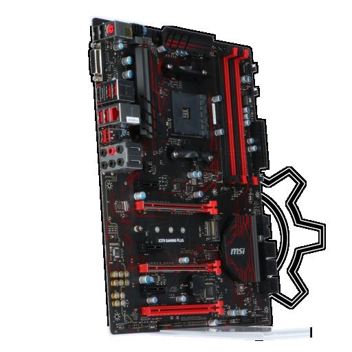 360 - MSI X370 GAMING PLUS AMD X370 So.AM4 Dual Channel DDR4 ATX Retail