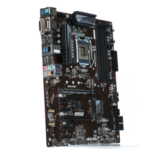 360 - MSI Z370-A PRO Intel Z370 So.1151 Dual Channel DDR4 ATX Retail