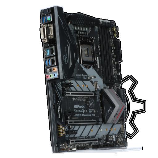360 - ASRock Fatal1ty Z370 Gaming K6 Intel Z370 So.1151 Dual Channel DDR4