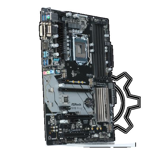 360 - ASRock Z370 Pro Intel Z370 So.1151 Dual Channel DDR4 ATX Retail