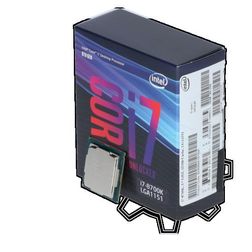 360 - Intel Core i7 8700K 6x 3.70GHz So.1151 WOF