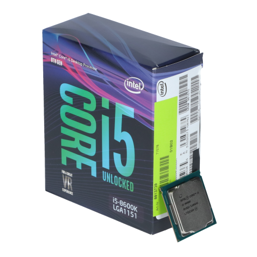 360 - Intel Core i5 8600K 6x 3.60GHz So.1151 WOF