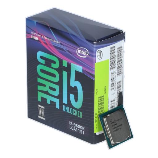 360 - Intel Core i5 8600K 6x 3.60GHz So.1151 WOF