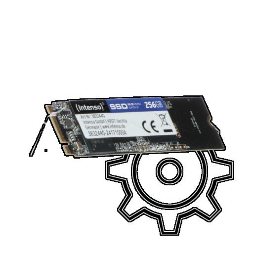 360 - 256GB Intenso Top Performance M.2 2280 SATA 6Gb/s (3832440)