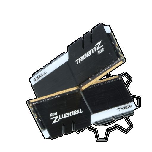 360 - 32GB G.Skill Trident Z RGB für AMD Ryzen DDR4-2933 DIMM CL14