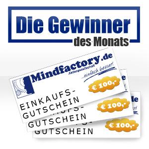 Artikel Bewertung Rezension Gewinnerliste Mindfactoryde