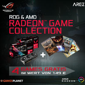 RADEON™ GAME COLLECTION EXTENDED!