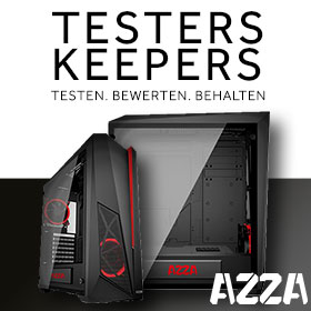 Testers Keepers mit AZZA